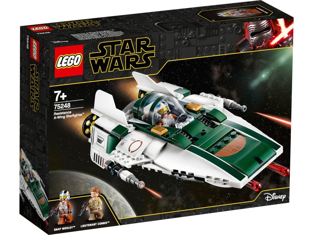 Конструктор Lego Star Wars Звёздный истребитель Повстанцев типа А 75248 конструктор lego star wars 75133 боевой набор повстанцев