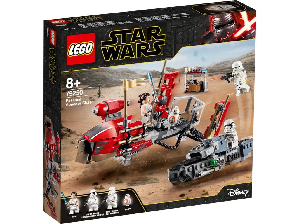 Конструктор Lego Star Wars Погоня на спидерах 75250 конструктор lego city погоня по грунтовой дороге 297 элементов 60172