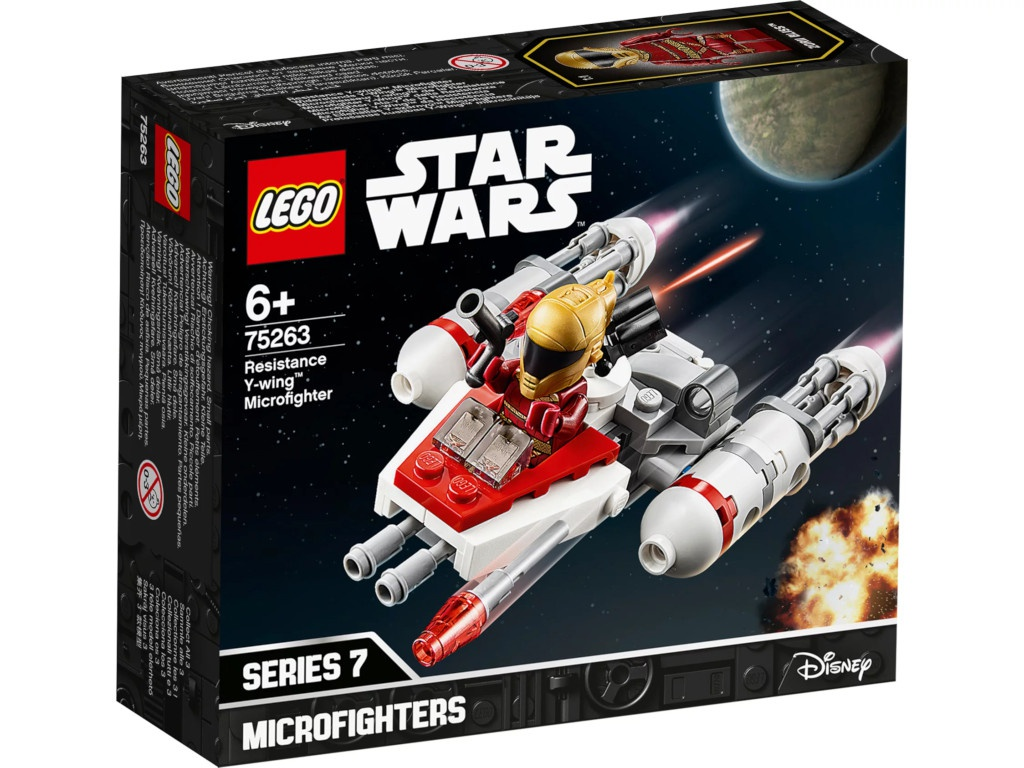 Конструктор Lego Star Wars Микрофайтеры Истребитель Сопротивления типа Y 75263
