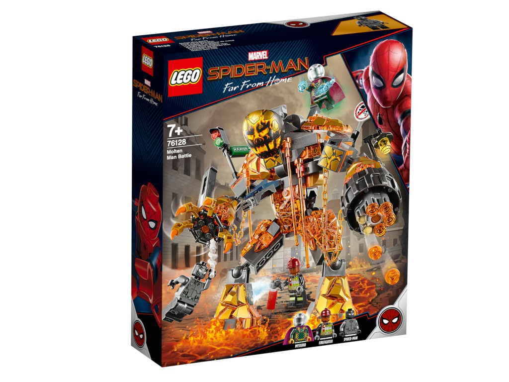 Конструктор Lego Super Heroes Бой с Расплавленным человеком 76128 цена и фото