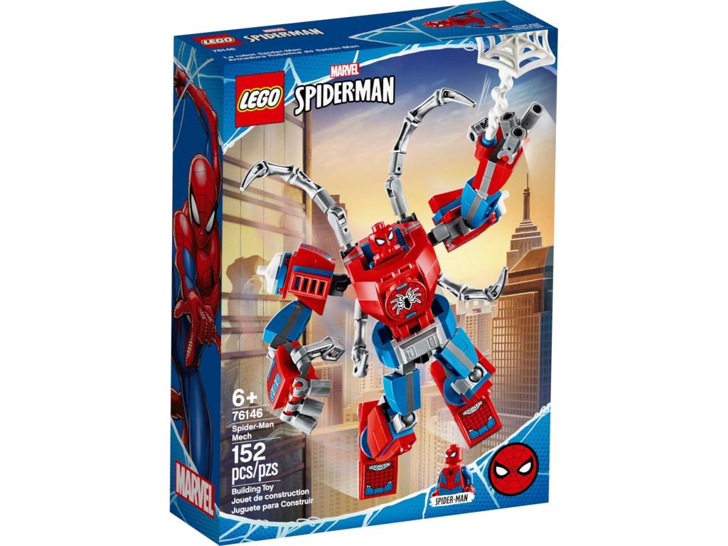 Конструктор Lego Super Heroes Человек-Паук трансформер 76146