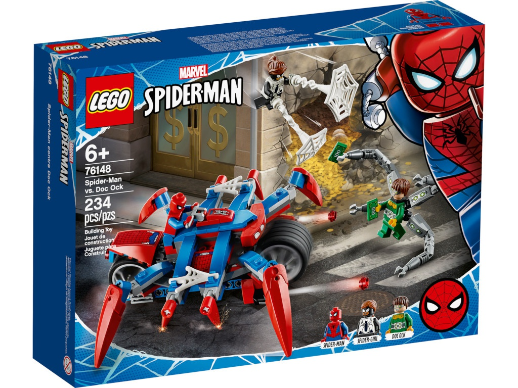 Конструктор Lego Super Heroes Человек-Паук против Доктора Осьминога 76148 цена и фото