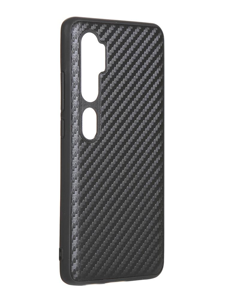 Чехол G-Case для Xiaomi Mi Note 10 / Pro Carbon Black GG-1199