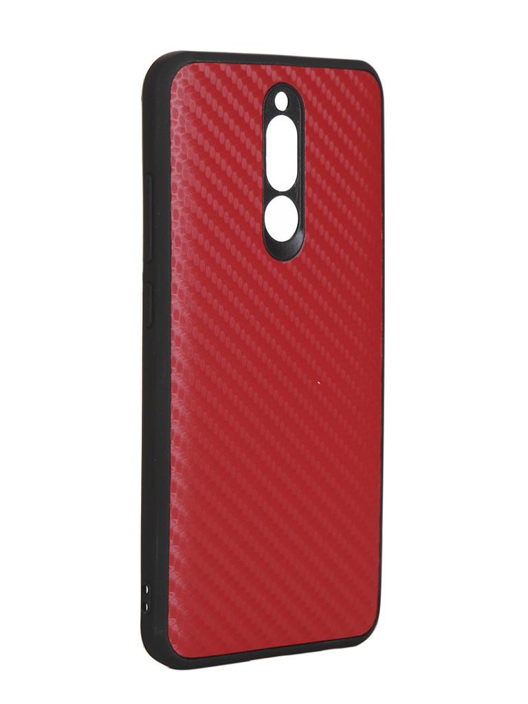 Чехол G-Case для Xiaomi Redmi 8 Carbon Red GG-1187