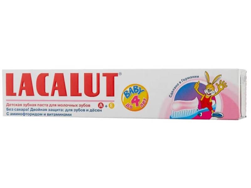 Lacalut Детская Baby до 4 лет 50мл 666066
