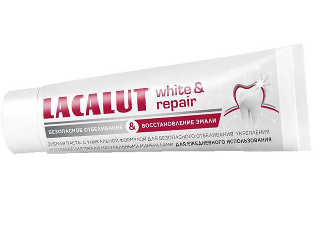Зубная паста Lacalut Уайт энд Рипейр 75мл 666269