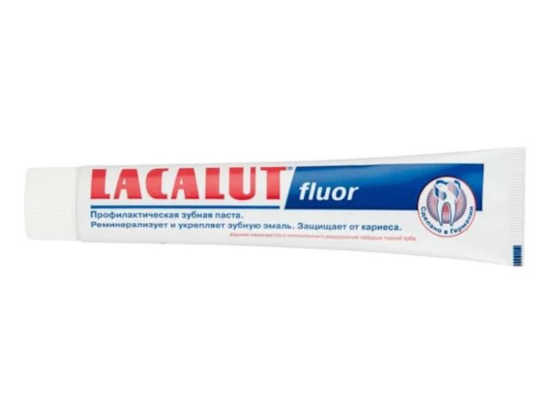 Зубная паста Lacalut Флуор 75мл 666053