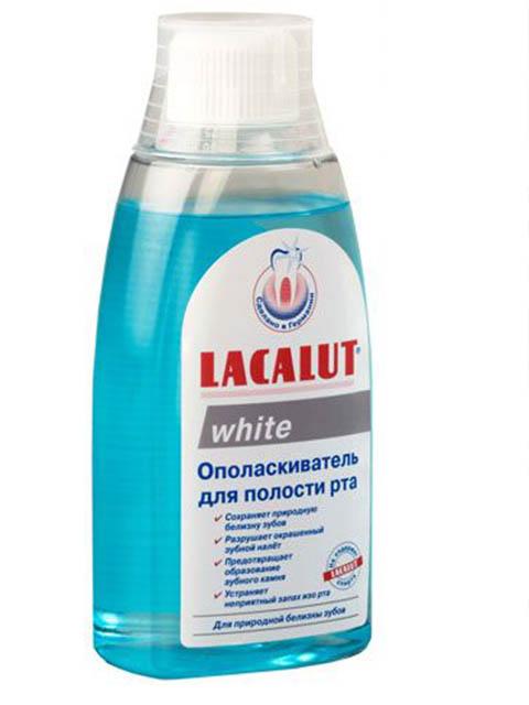 Ополаскиватель для полости рта Lacalut Уайт 300мл 666092