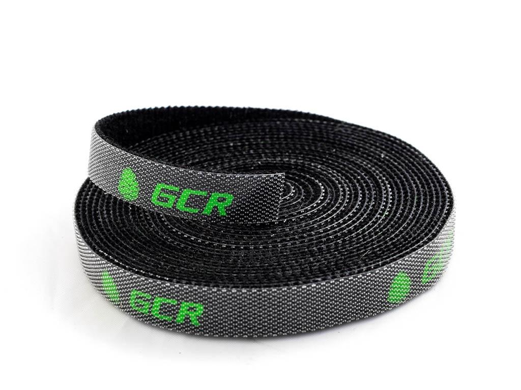 Лента-липучка Greenconnect 1m Black GCR-51417