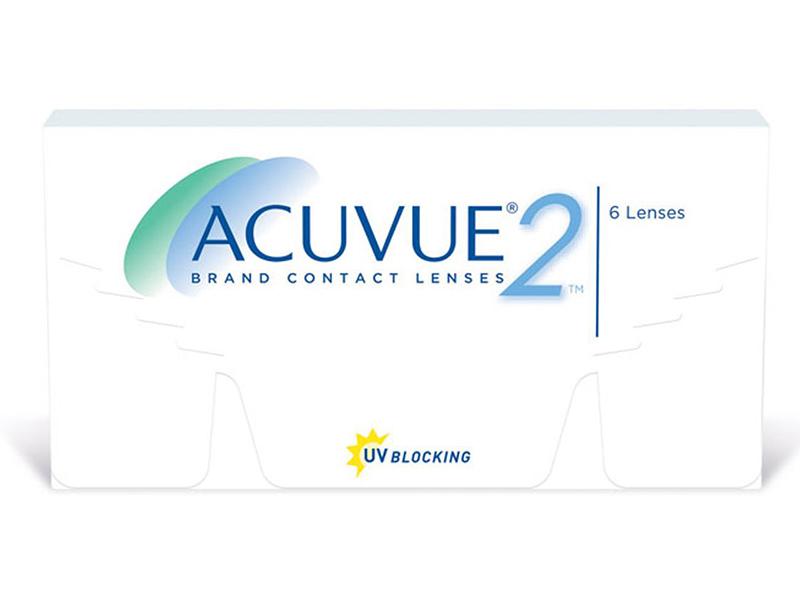 Контактные линзы Johnson & Acuvue 2 (6 линз / 8.7 -2.5)