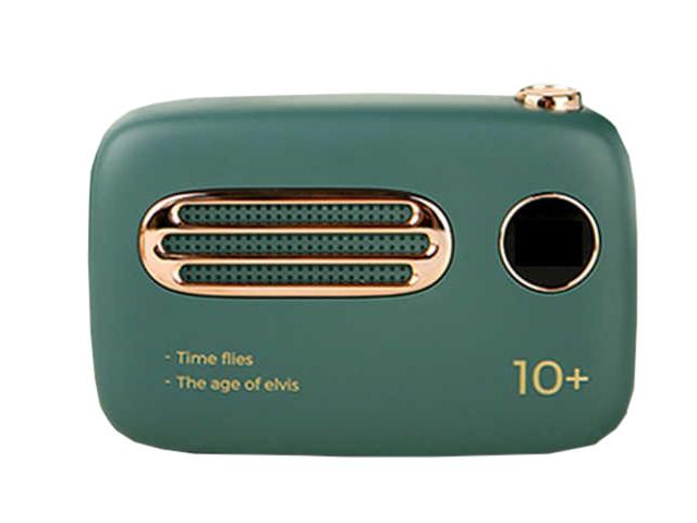 Внешний аккумулятор Xiaomi Mi Mao-Xin T-37 Retro Power Bank 10000mAh Green