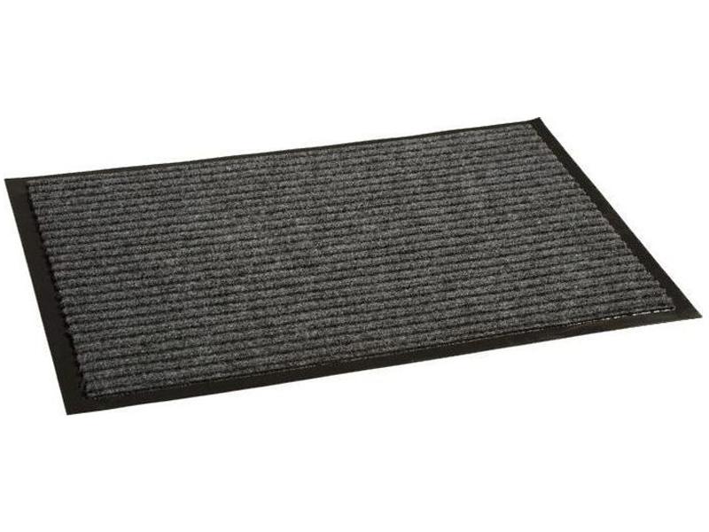Коврик InLoran Стандарт 90x120cm Grey 10-9124