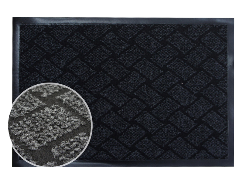 Коврик InLoran Крафт 80x120cm Grey 70-8124