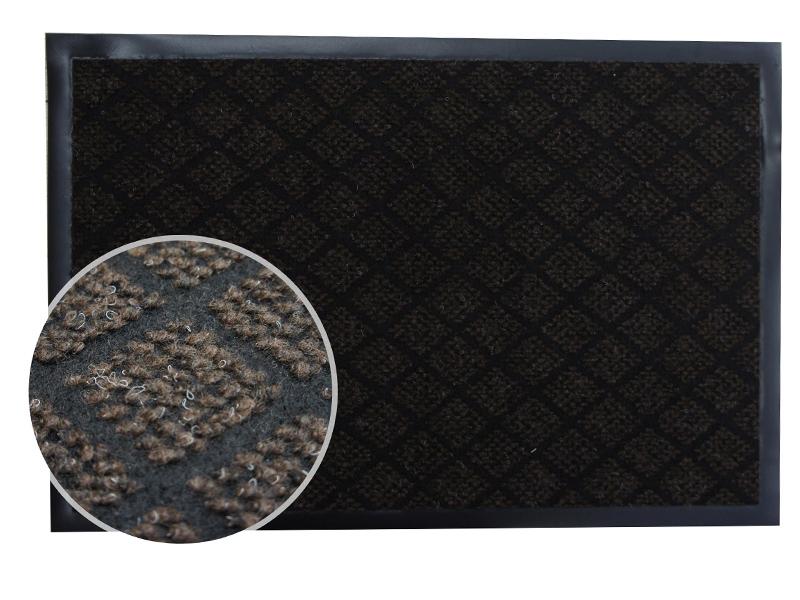 Коврик InLoran Галант 50x80cm Brown 50-582