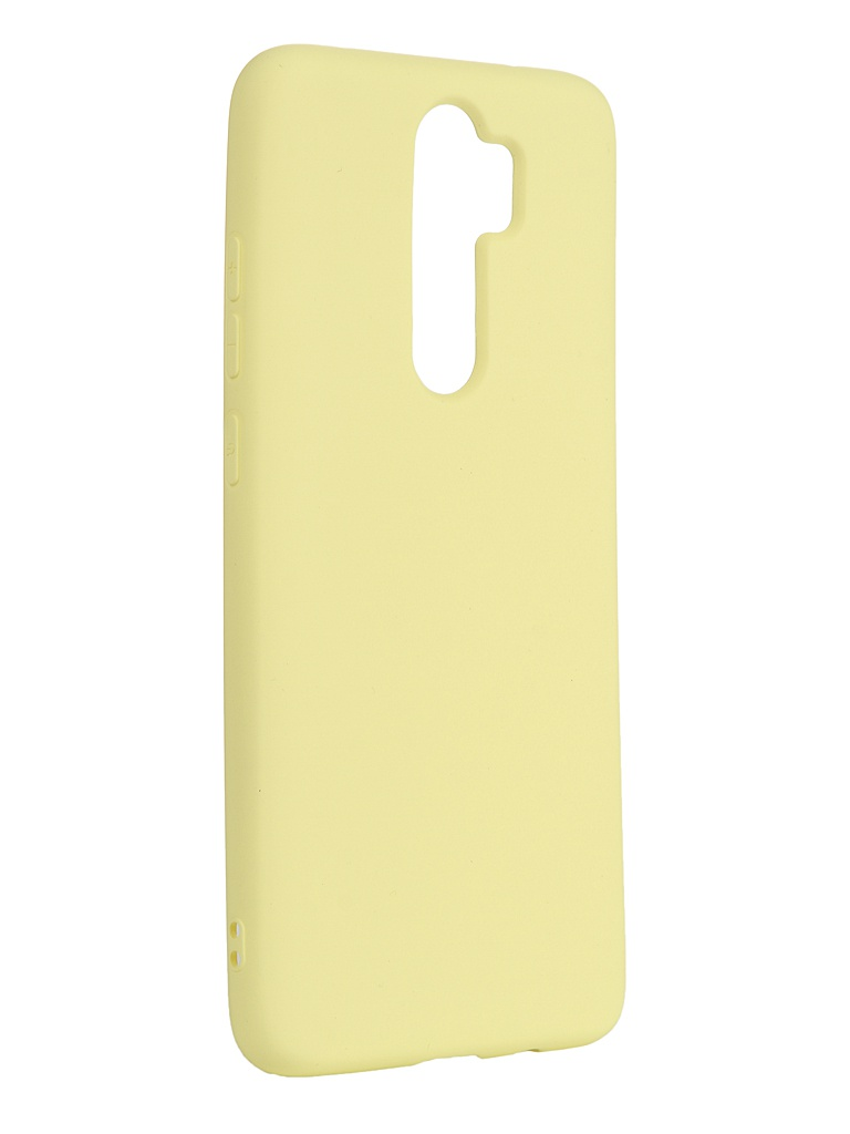 Чехол Neypo для Xiaomi Redmi Note 8 Pro Silicone Case 2.0mm Yellow NSC16038