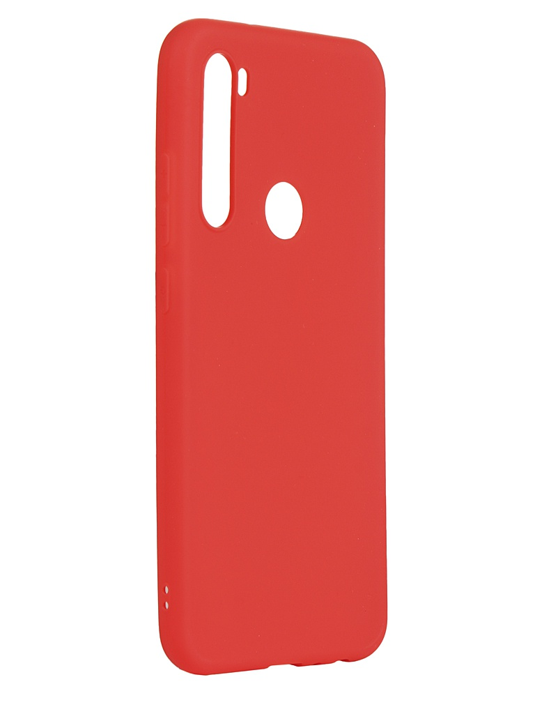 Чехол Neypo для Xiaomi Redmi Note 8T Soft Matte Silicone Red NST16169