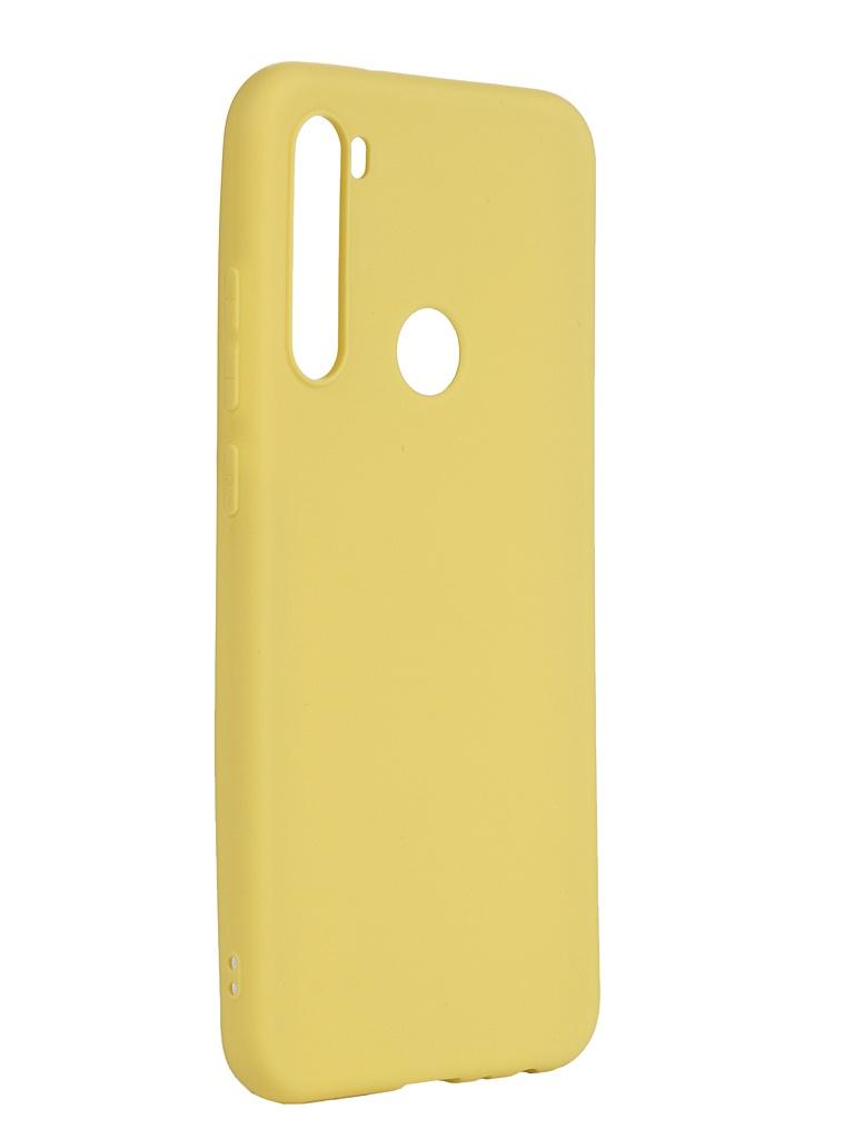 Чехол Neypo для Xiaomi Redmi Note 8T Soft Matte Silicone Yellow NST16168