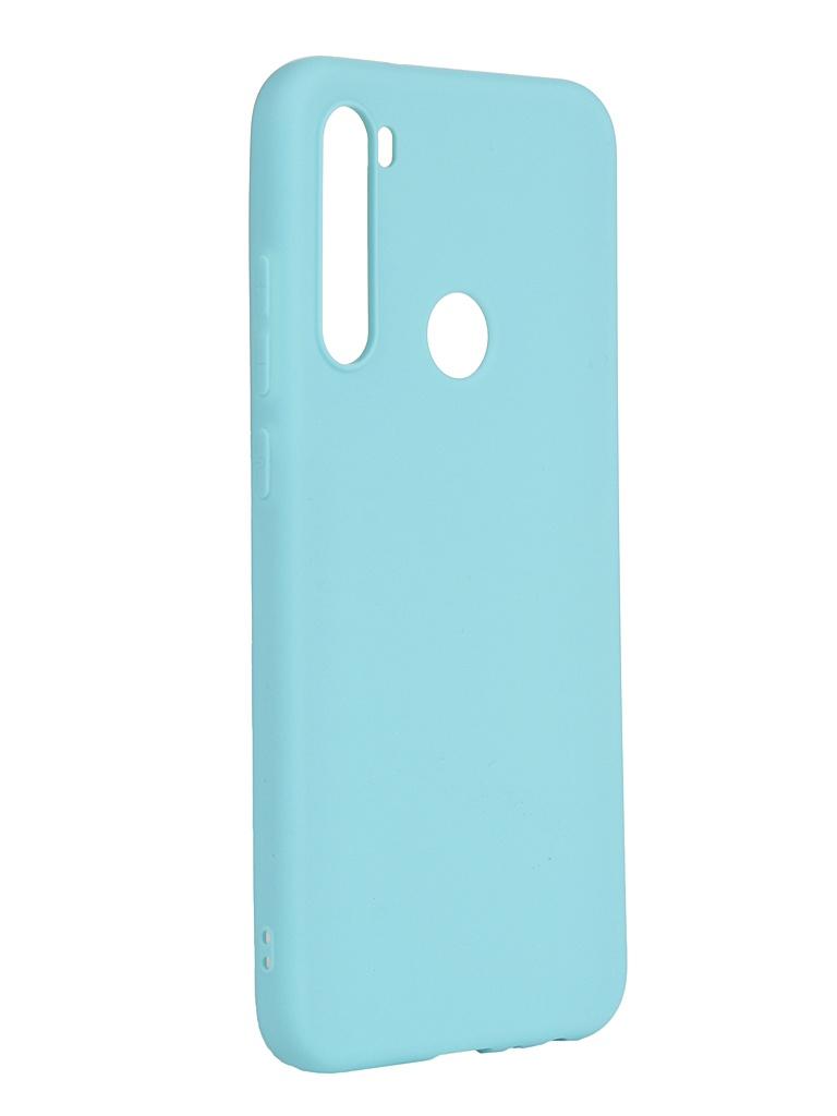 Чехол Neypo для Xiaomi Redmi Note 8T Soft Matte Silicone Turquoise NST16167