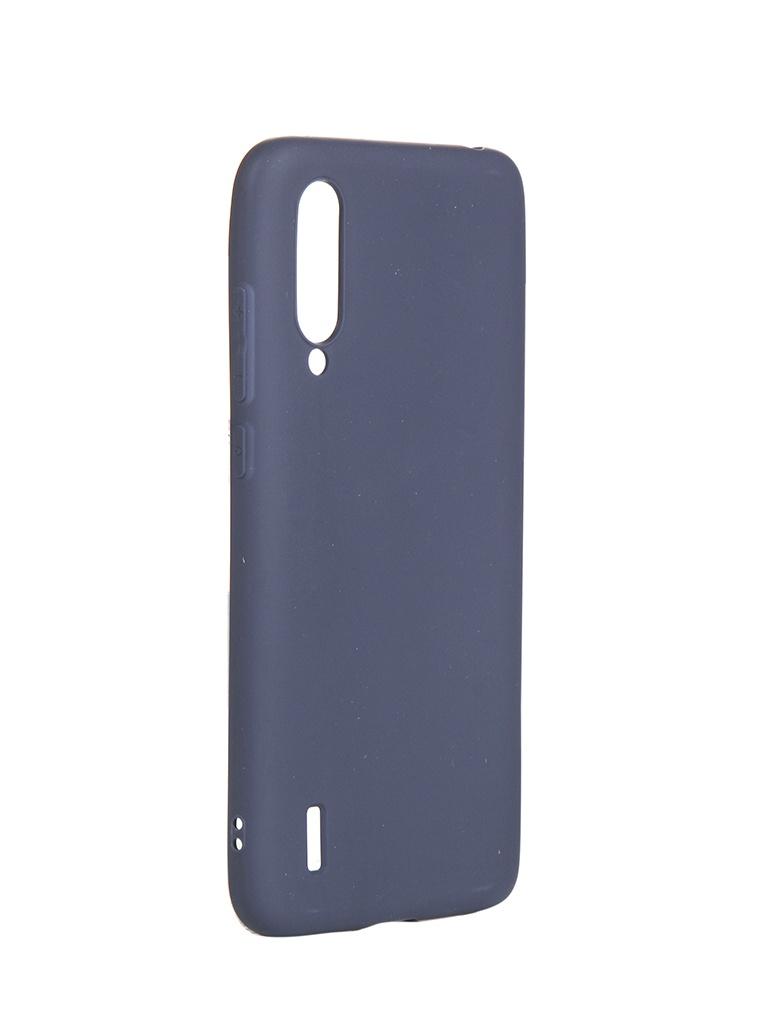 Чехол Neypo для Xiaomi Mi9 Lite Mi CC9 Soft Matte Silicone Dark Blue NST15203