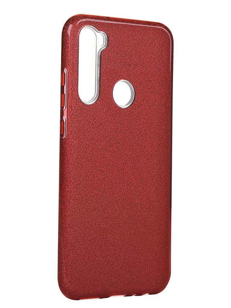 Чехол Neypo для Xiaomi Redmi Note 8T Brilliant Silicone Red Crystals NBRL16058 фото