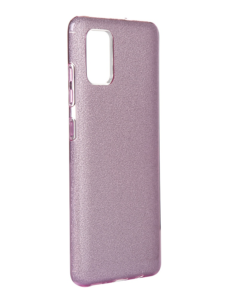 Чехол Neypo для Samsung Galaxy A51 2020 Brilliant Silicone Purple Crystals NBRL16116