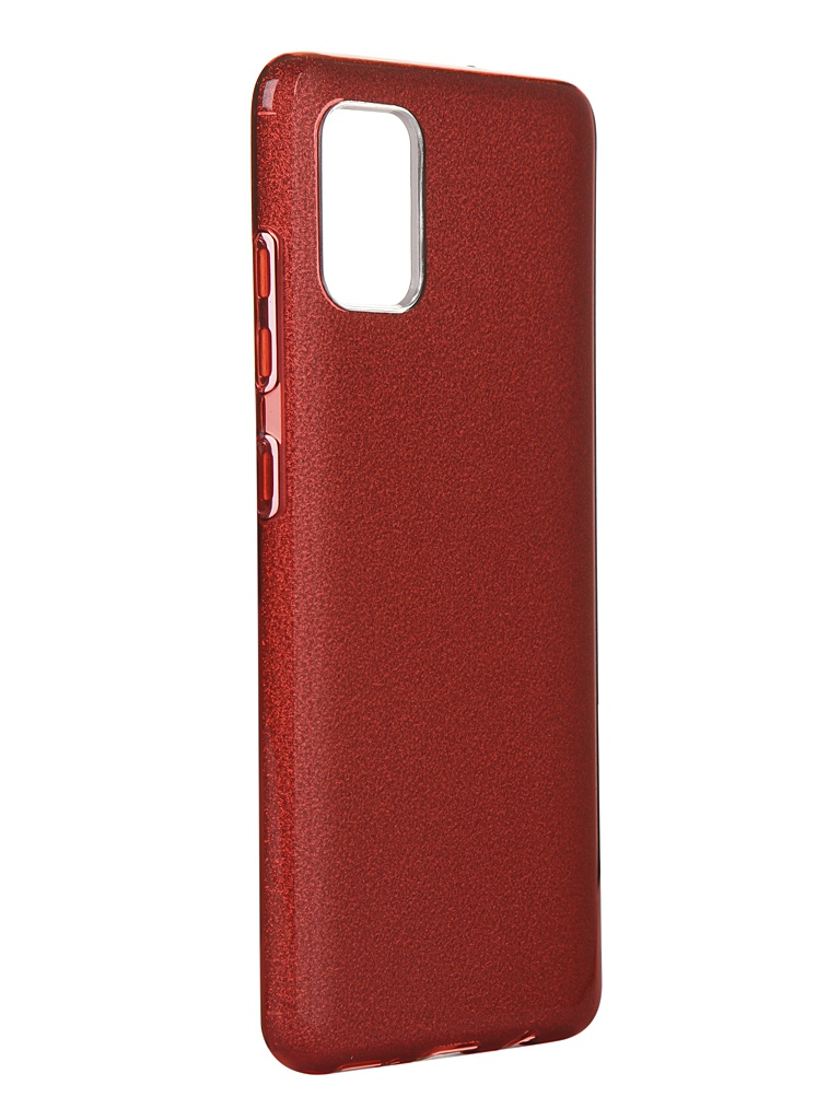 Чехол Neypo для Samsung Galaxy A51 2020 Brilliant Silicone Red Crystals NBRL16113