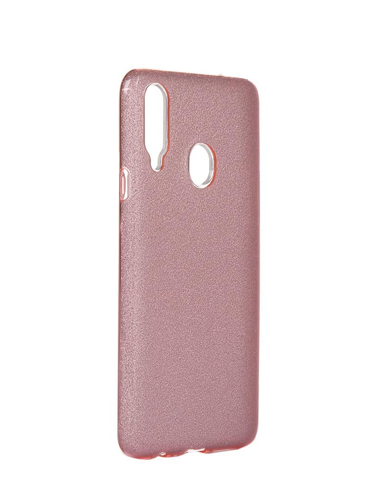 Чехол Neypo для Samsung Galaxy A20s 2019 Brilliant Silicone Pink Crystals NBRL16067