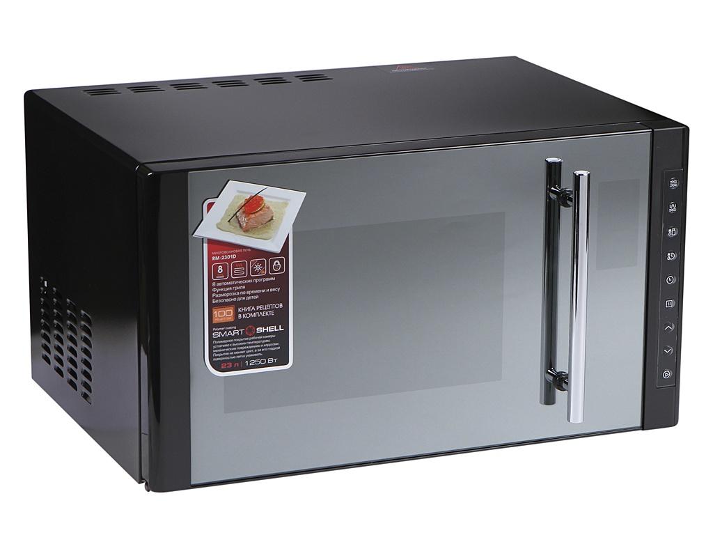 Микроволновая печь Redmond RM-2301D микроволновая печь свч redmond rm 2002 d