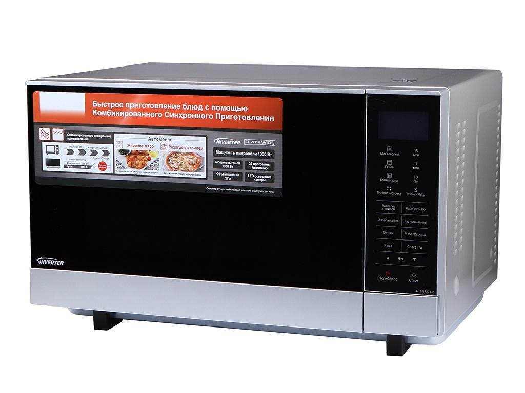 Фото - Микроволновая печь Panasonic NN-GF574M микроволновая печь panasonic nn sm221w