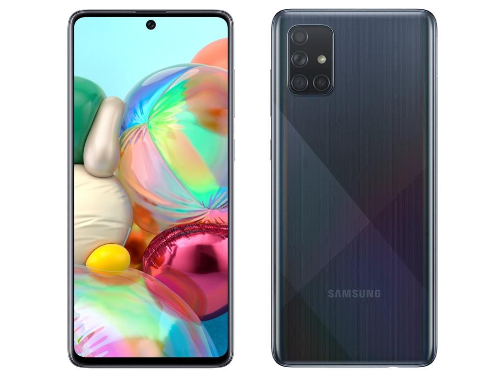 Сотовый телефон Samsung SM-A715F Galaxy A71 6Gb/128Gb Black