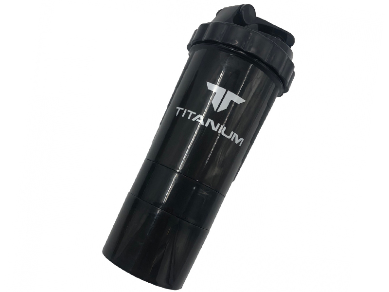 Шейкер Bradex 500ml Titanium Black SF 0531