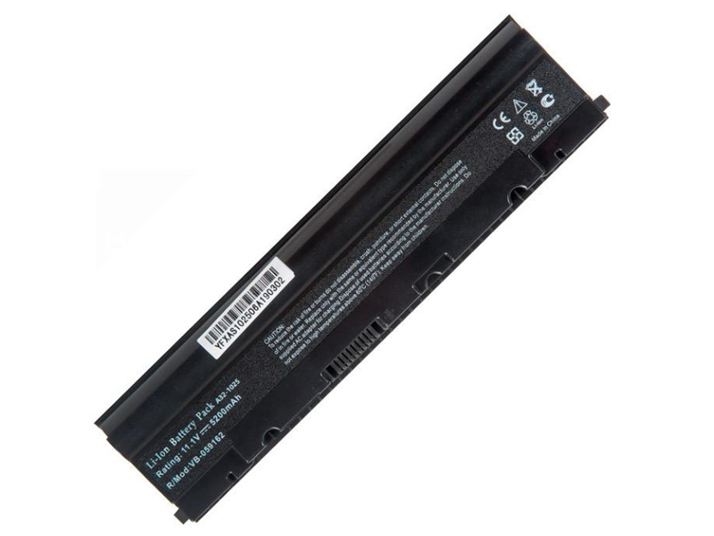 цена на Аккумулятор RocknParts для Asus Eee PC 1025C/1025CE/1225B/1225C/1225CE 10.8V-11.1V 5200mAh 697732