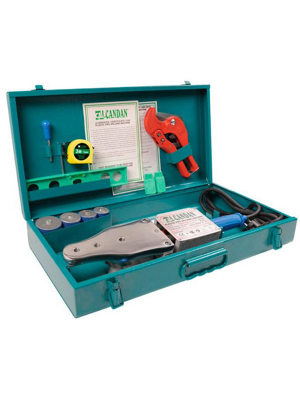 Аппарат для сварки пластиковых труб Candan CM-01 Set 509754