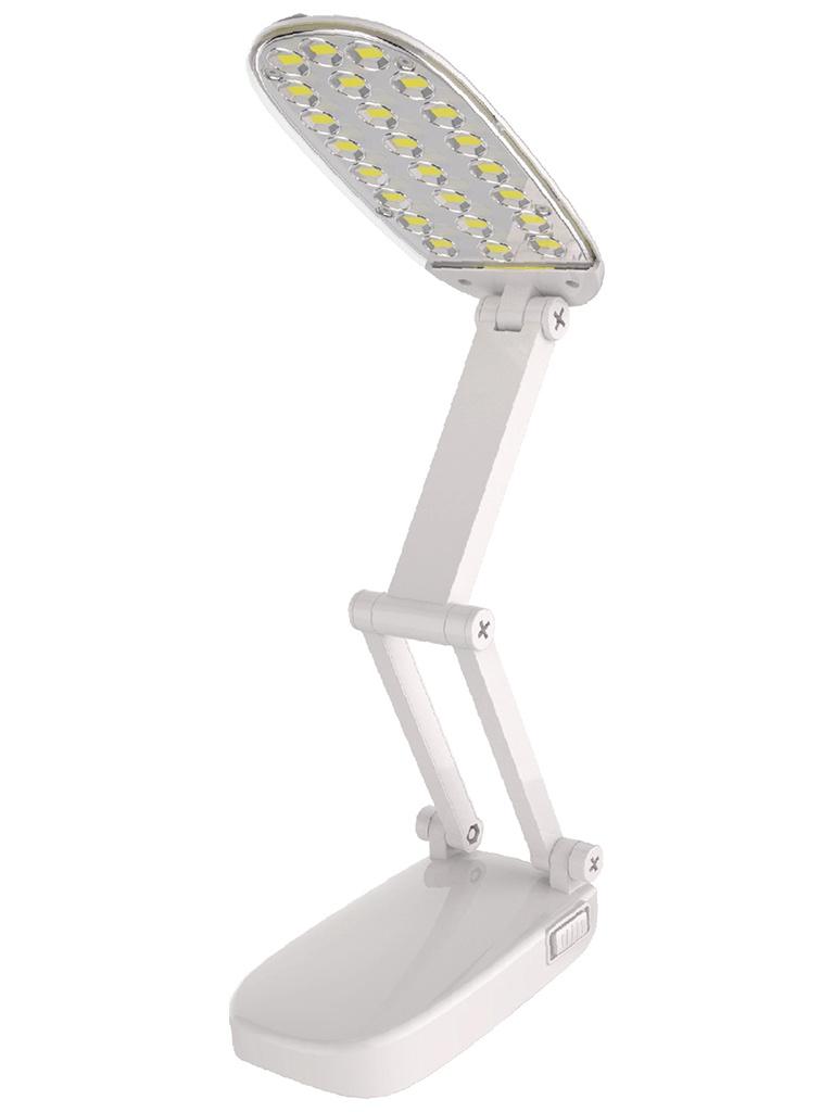 Настольная лампа Ultraflash UF-703 С01 White цена