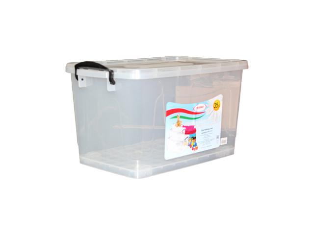 Контейнер для хранения Росспласт 35L Transparent