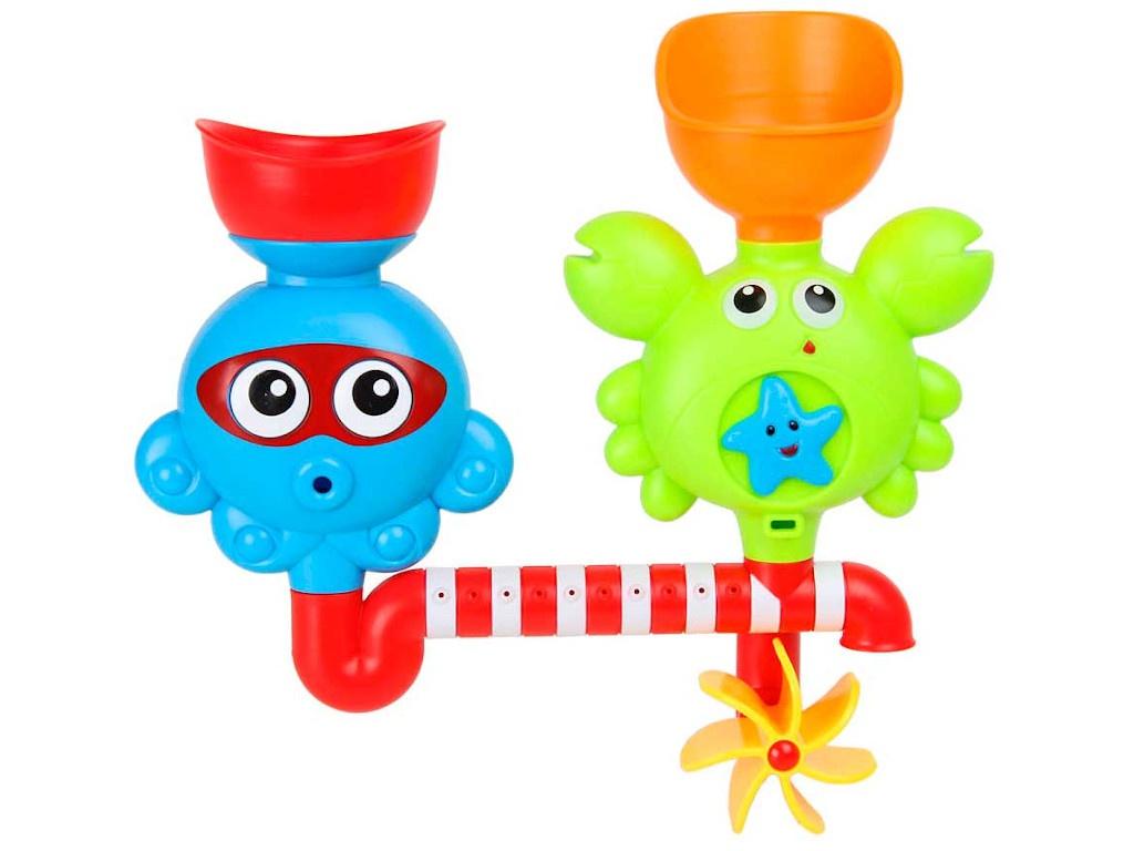 Игрушка Ути Пути Крабик и осьминог 72440 пластмассовая игрушка для ванны alex осьминог 842s