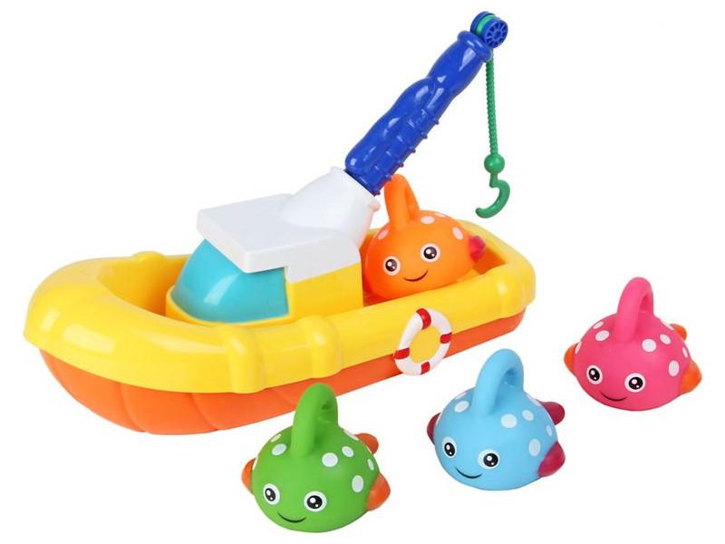 Игрушка Ути Пути Рыбацкая лодка 72439