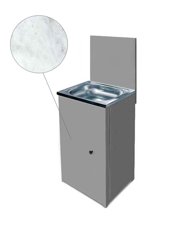 Каркас рукомойника Акватекс ЛДСП Marble 500х500мм