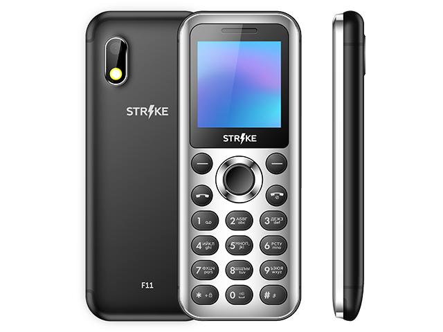 Сотовый телефон Strike F11 Black