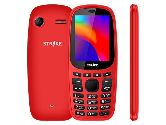 Сотовый телефон Strike A20 Red