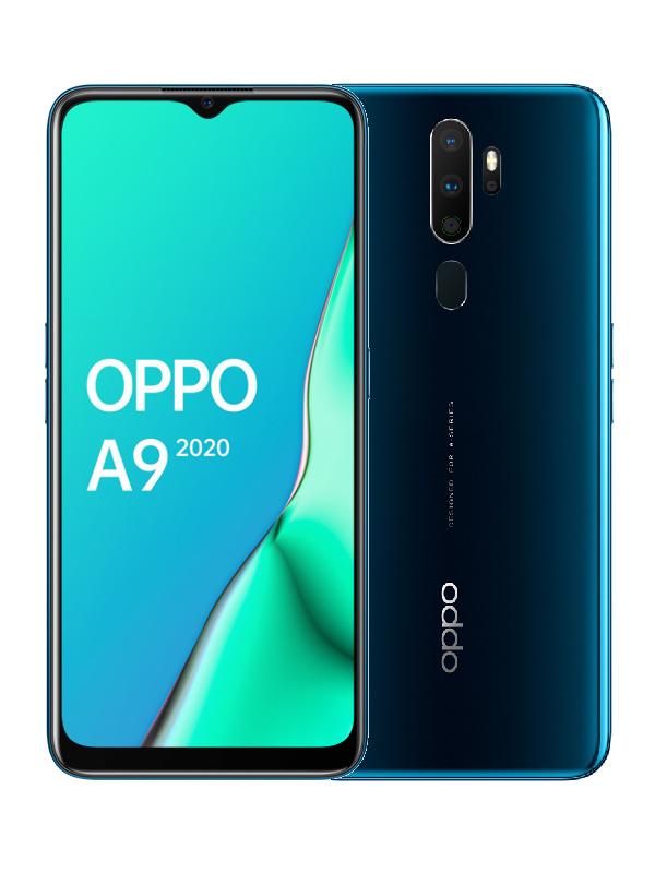 Сотовый телефон OPPO A9 (2020) 4/128Gb Sea Green