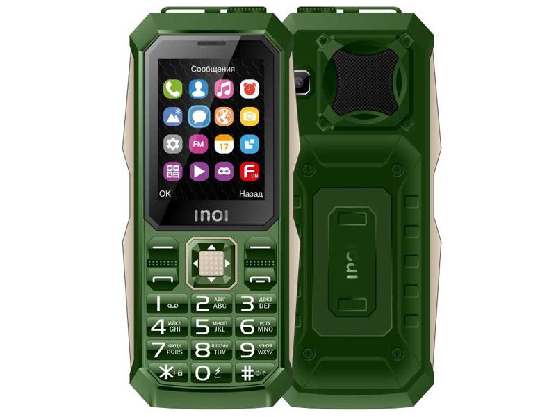 Сотовый телефон Inoi 246Z Khaki