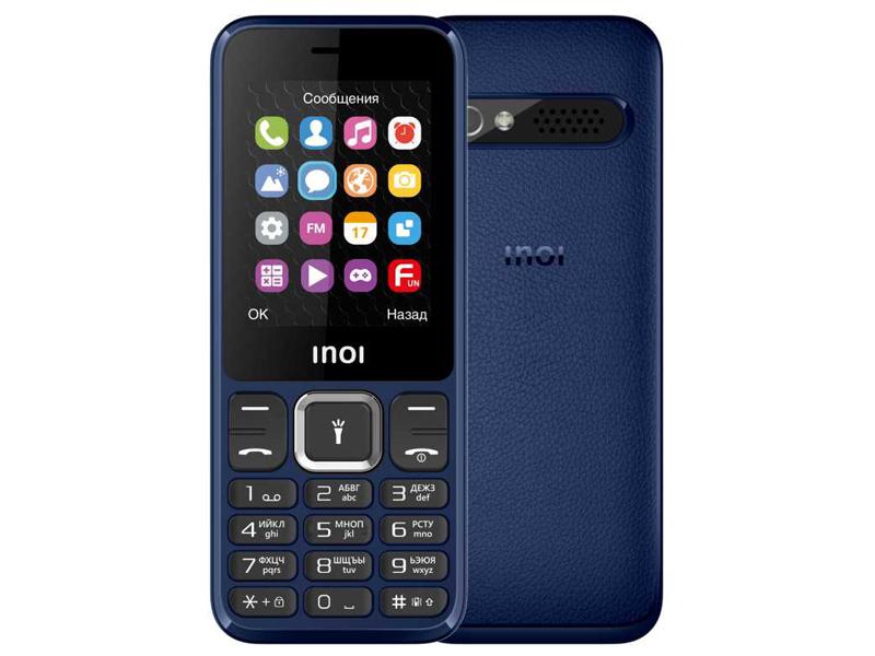 Сотовый телефон Inoi 242 Dark Blue
