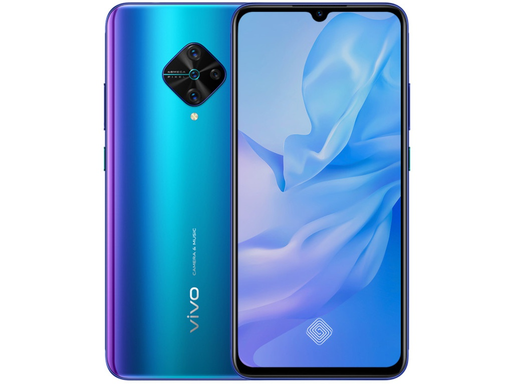 Сотовый телефон vivo V17 Nebula Blue сотовый