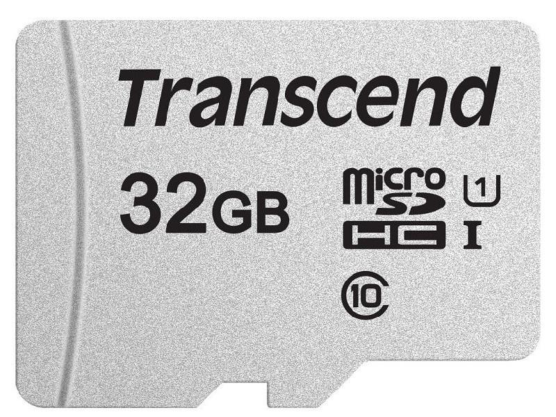 Карта памяти 32Gb - Transcend 300S MicroSDHC Class 10 UHS-I TS32GUSD300S