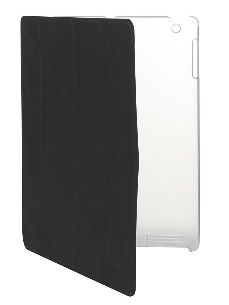 Чехол-подставка mObility для APPLE iPad 2/3/4 Y Black УТ000017684