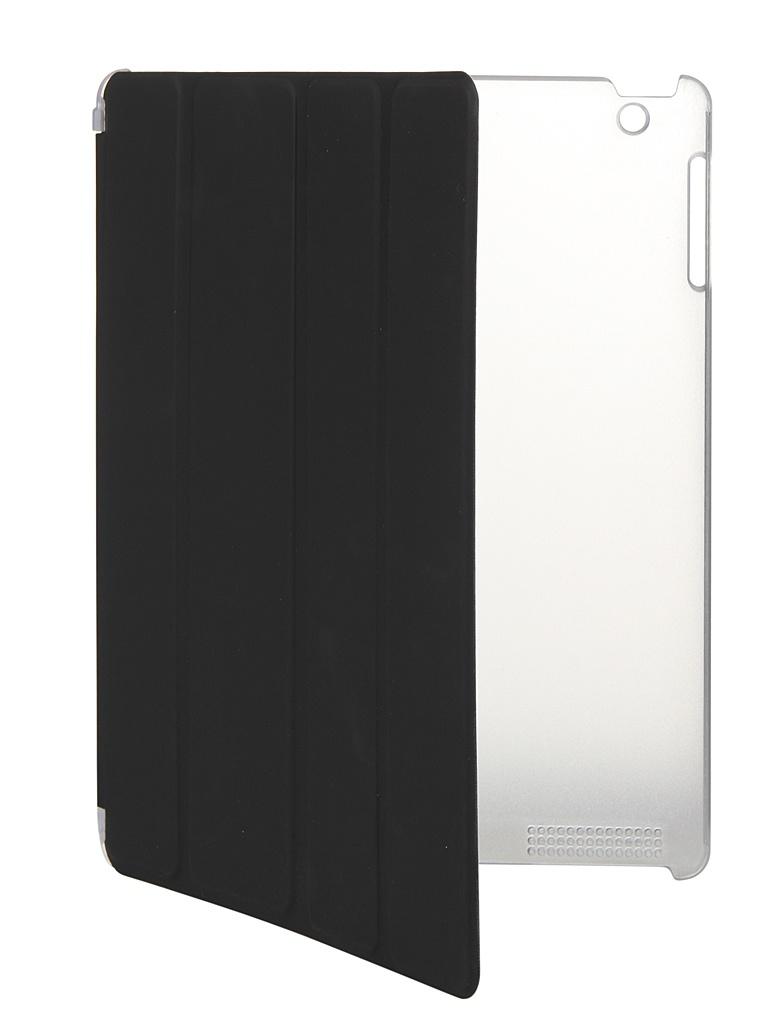 Чехол mObility для APPLE iPad 2/3/4 Black УТ000017692