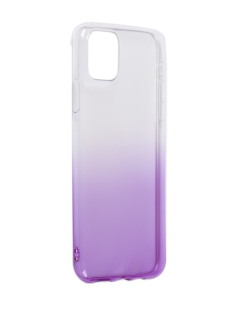 Чехол iBox для APPLE iPhone 11 Pro Max Crystal Silicone Gradient Purple УТ000019747