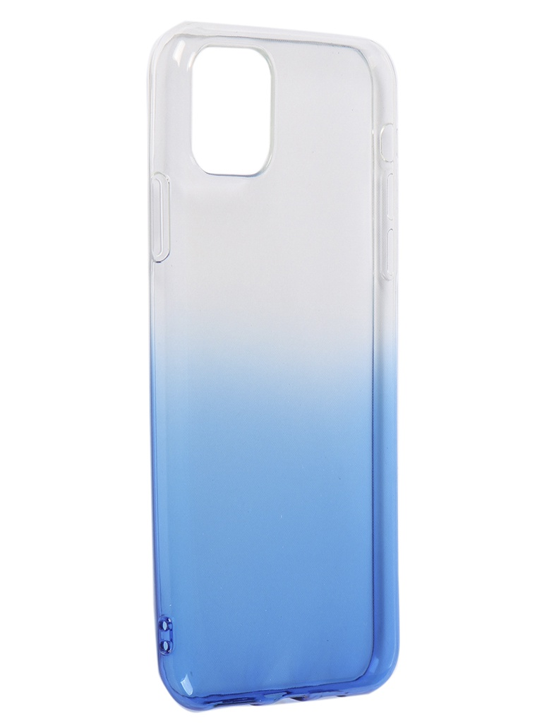 Чехол iBox для APPLE iPhone 11 Pro Max Crystal Silicone Gradient Blue УТ000019748