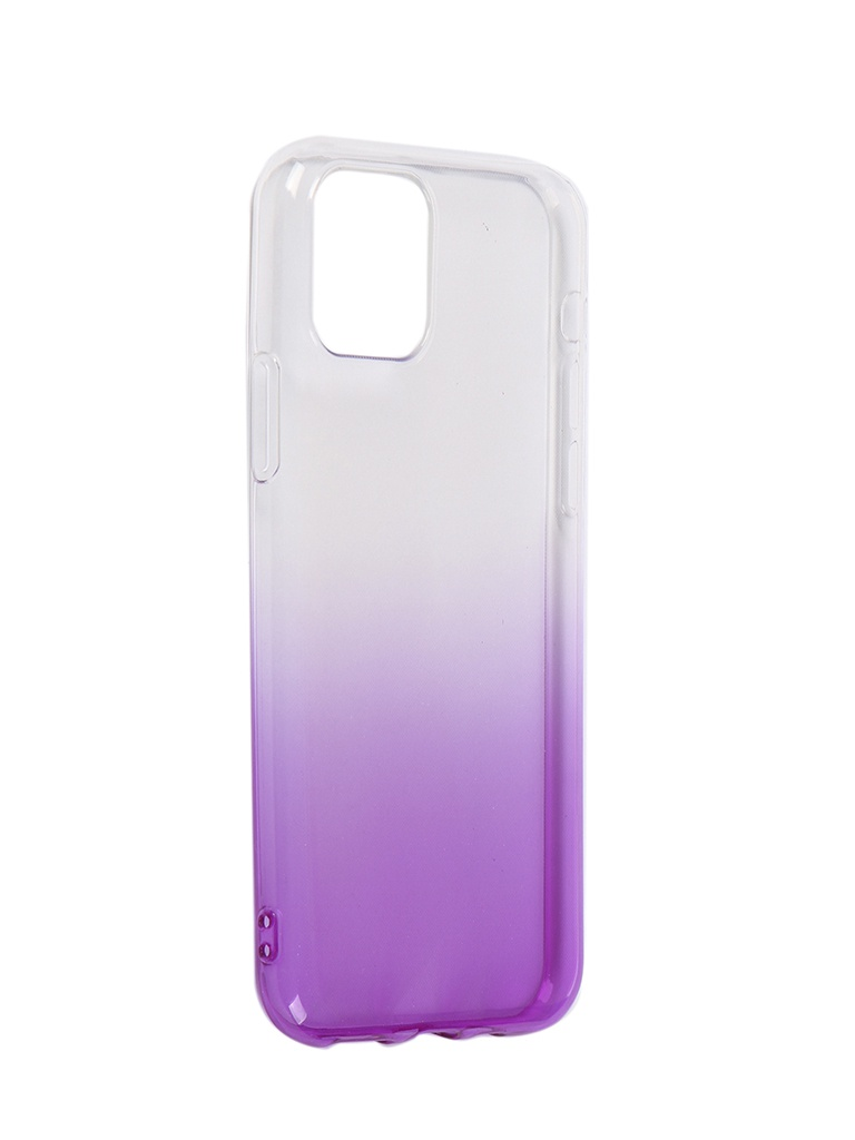Чехол iBox для APPLE iPhone 11 Pro Crystal Silicone Gradient Purple УТ000019745